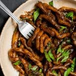 Black Garlic Pici Pasta Pinterest