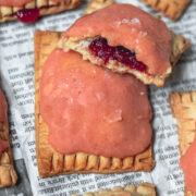 Guava Pop Tarts with Guava Cream Cheese Glaze