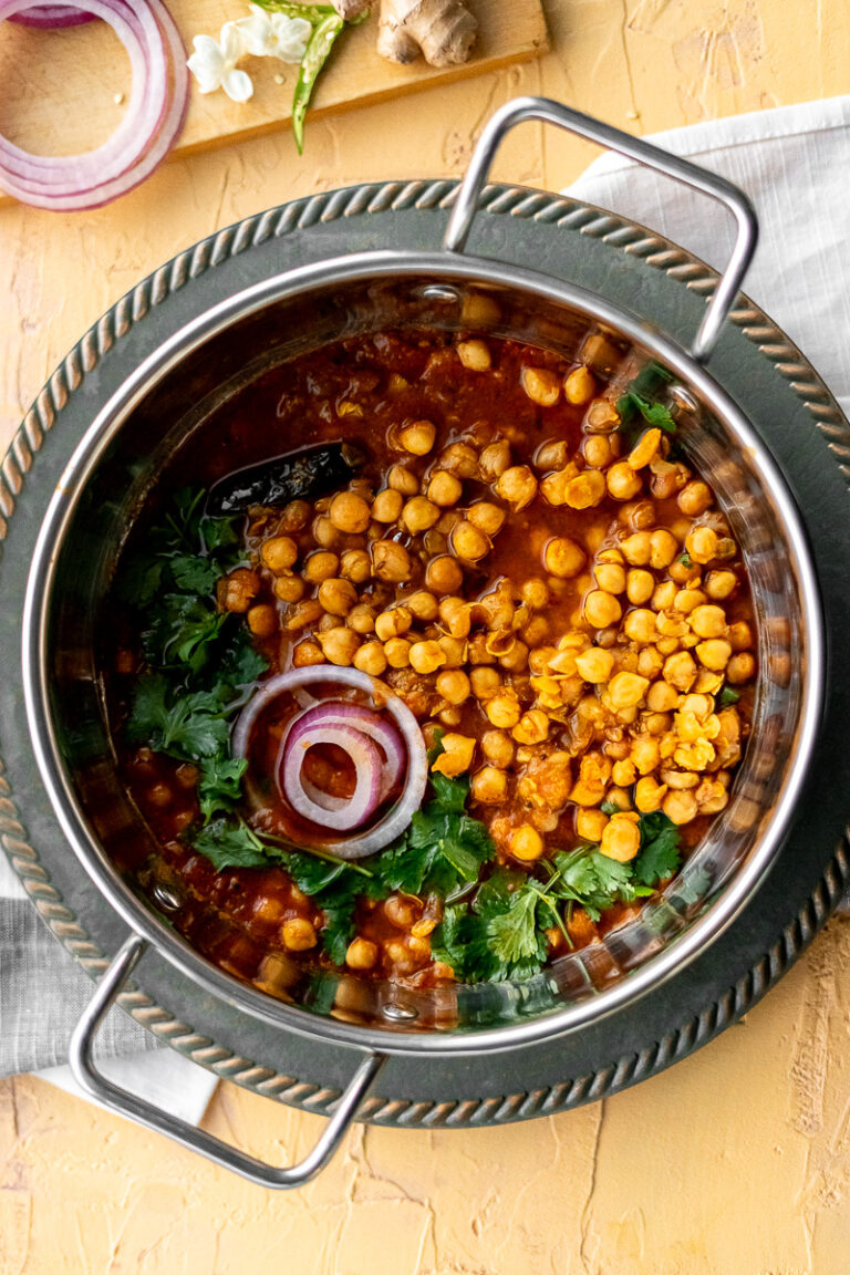 Chole - Indian Chickpea Curry - Instant Pot Recipe ...