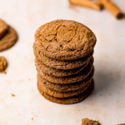 Jaggery Gingersnap Cookie Stack