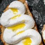 Whipped Ricotta Toast Pinterest