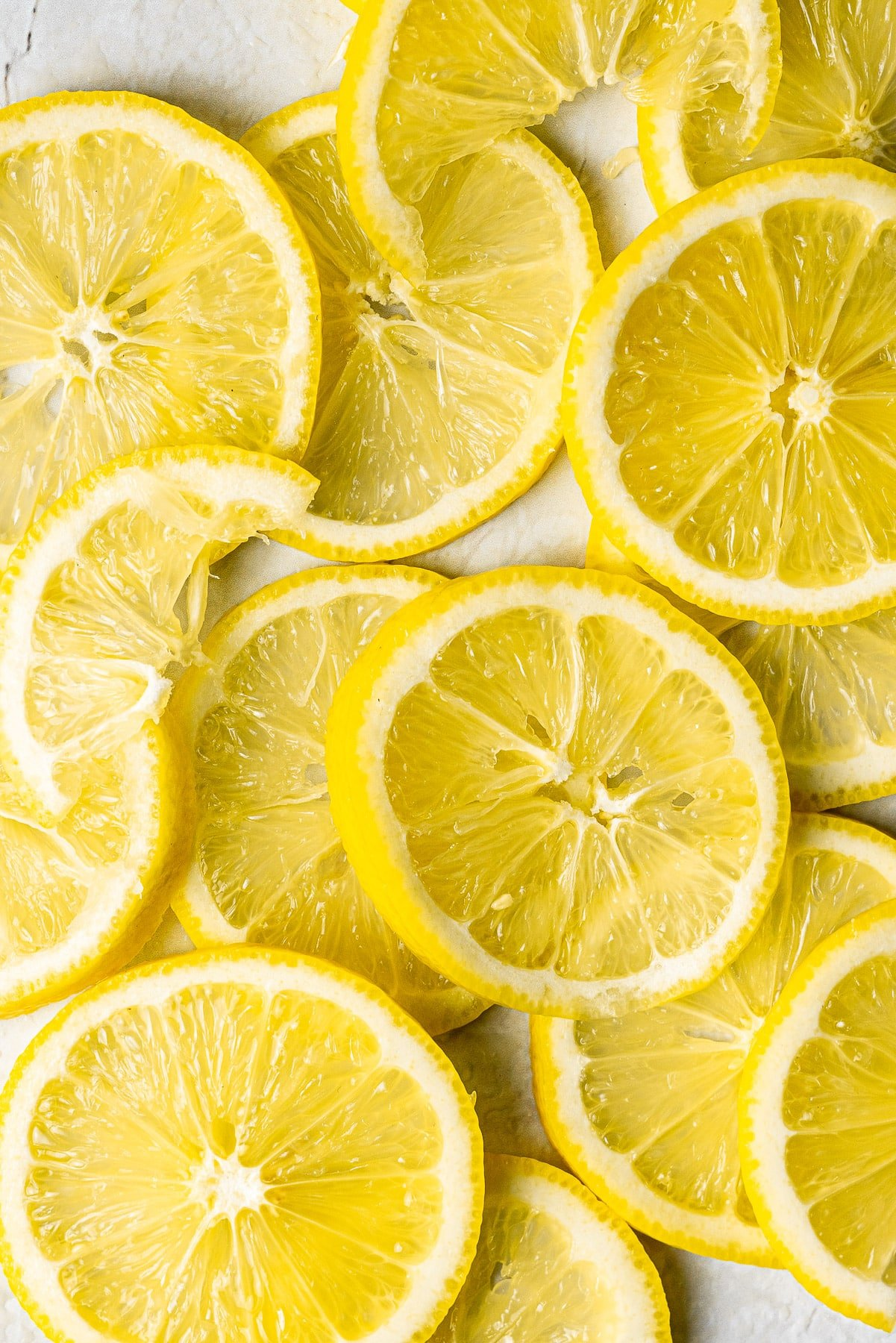 slices of lemon layered on top of each other