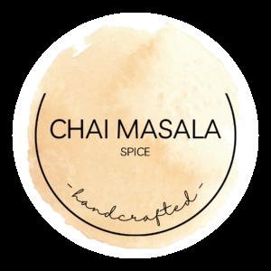 chai masala sticker label